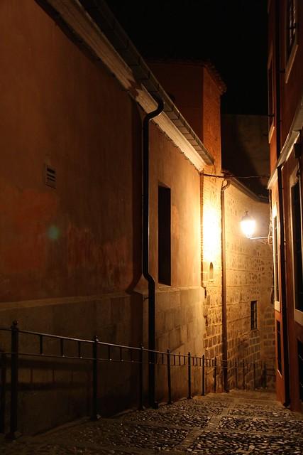 Toledo At Night