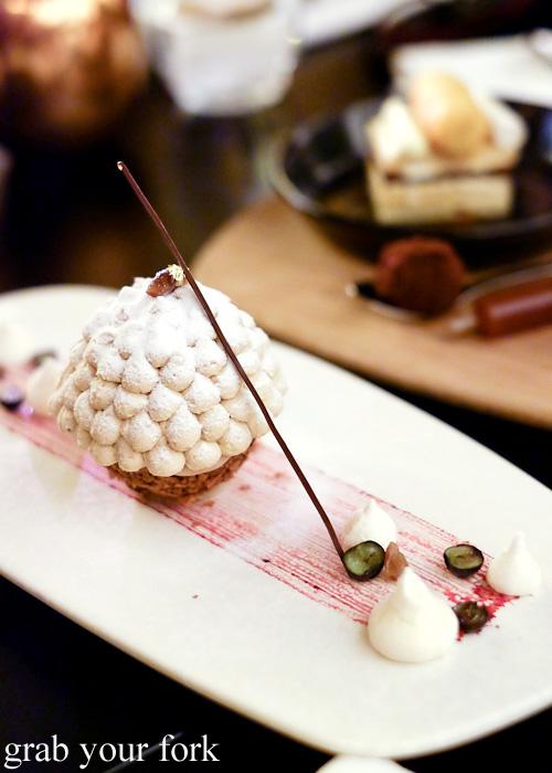 Mont Blanc at Om Nom Dessert Bar at the Adelphi Hotel, Melbourne
