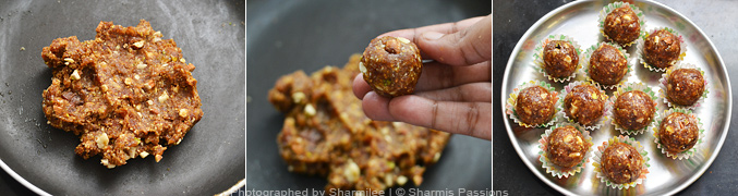 How to make fruit and nut laddu - Step6