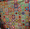 Finished economy block DCMQG quilt