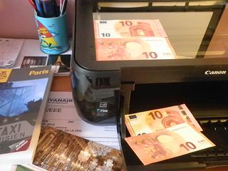 Nuevo billete de 10 euros