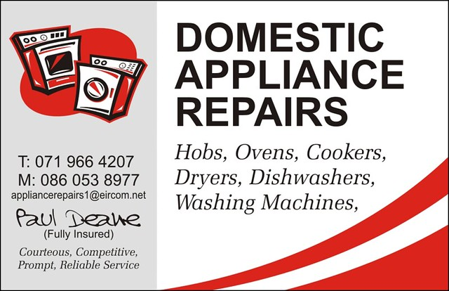 Paul Deane Domestic Appliance Repairs