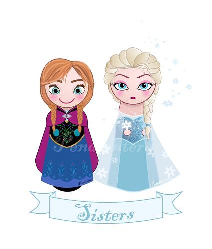 Kokeshis Frozen