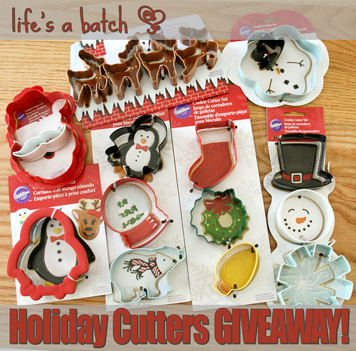 Holiday Cutters Giveaway!