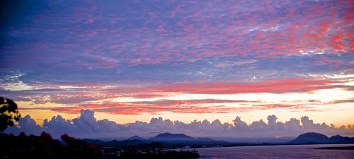 ocean sunset sea sky seascape sonora clouds sunrise landscape mexico bays sancarlos seaofcortez bocochibampobay