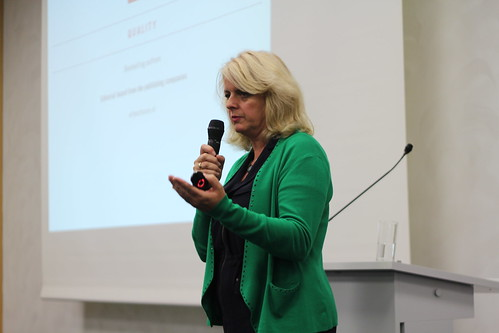 Genevieve Waldman (Luitingh-Sijthoff, Elly's Choice) - EIBF Frankfurt Buchmesse
