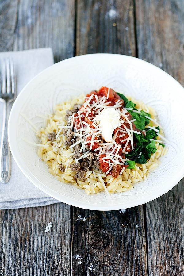 lasagna bowls