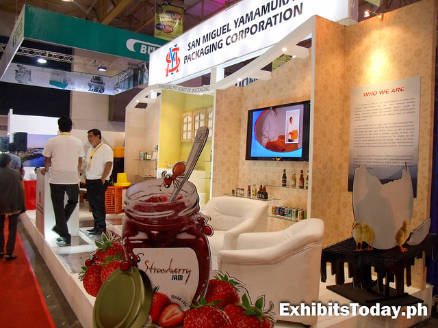 San Miguel Yamamura Corp. exhibit stand