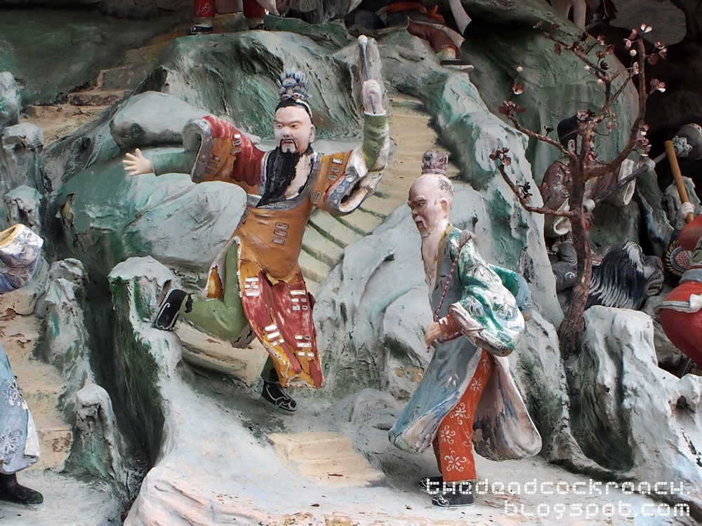 aw boon haw, aw boon par, chinese values, folklore, haw par villa, mythology, sculptures, statues, ten courts of hell, tiger balm, tiger balm garden, 虎豹别墅, singapore, where to go in singapore,investiture of the gods,封神榜, 封神演义,姜太公, 姜子牙