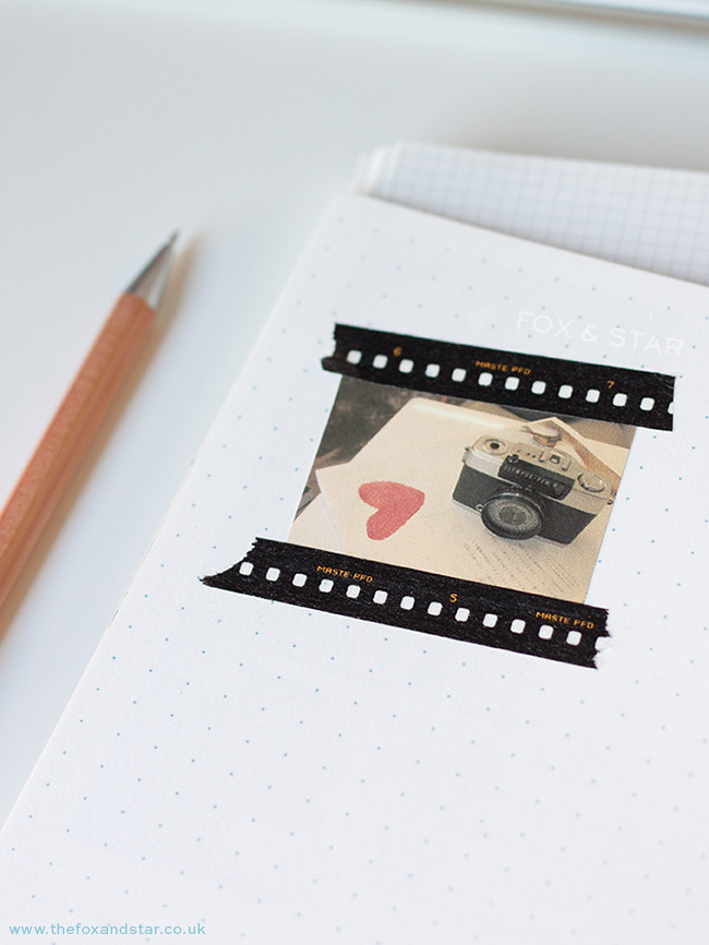 maste film strip border washi tape :: fox and star blog