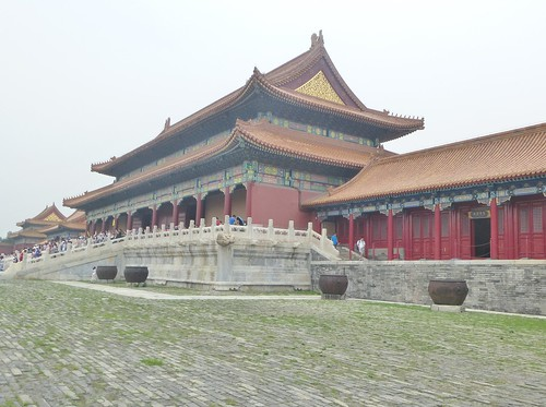 Beijing-Cité Interdite-Porte de l'Harmonie Suprême (15)