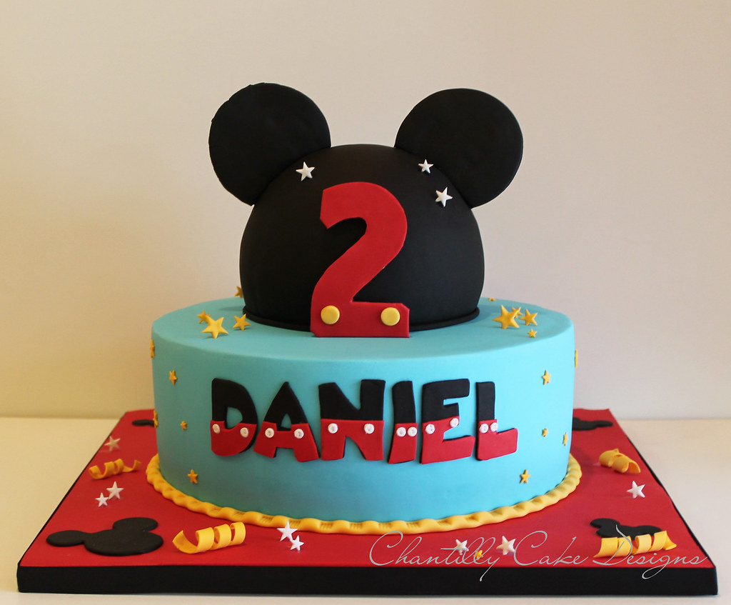 Mickey Mouse Cake Beth Flickr