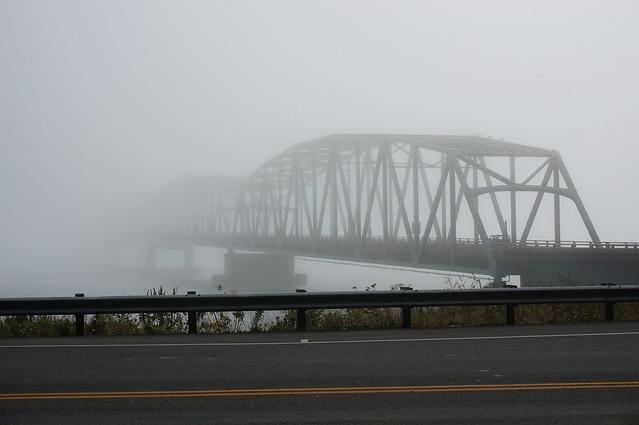 Washington end of the bridge
