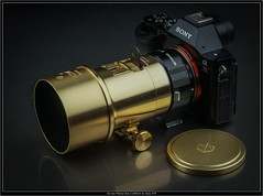 the new Petzval lens 2.2/85mm on Sony A7R