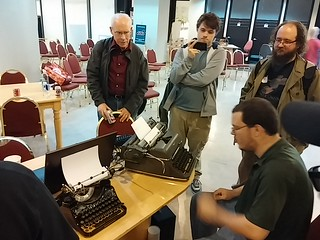 BarCamp Typewriter Con