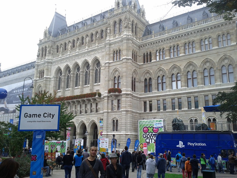Gamecity 2014 Rathaus Rückseite