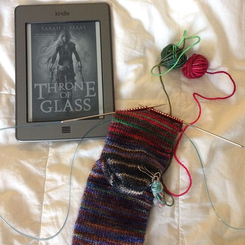 sock knitting and this book