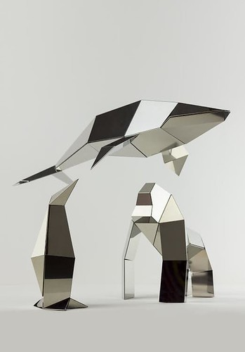 Foldable metallic sculptures - Kickstarter project, Poligon