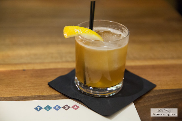 347 Cocktail - Old Granddad Bourbon, Zucca Amaro, Honey, Fresh Lemon, Ginger Beer