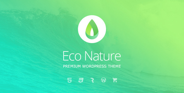 Eco Nature v1.3.2 – Environment & Ecology Theme