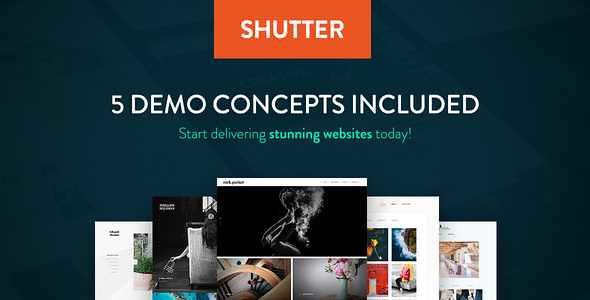 Shutter WordPress Theme free download