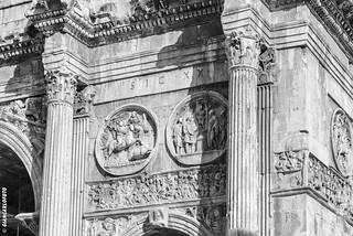 Arco di Costantino - Arc de Constantin - Roma