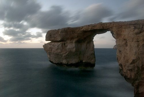 sad sadday azurewindow azure window nature erosion storm sea horizon malta gozo dwejrawindow dwejra limestone arch naturalarch island formation rock collapse collapsed longexposure cloud clouds cloudy sky bridge pillar naturalerosion travel cliff unesco dwejrabay bay theazurewindow