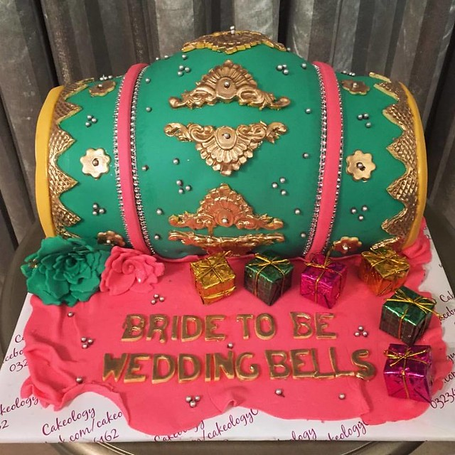 Wedding Cake by Saba Zafar of Cakeology