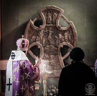 Всенощное бдение в Софийском соборе 235