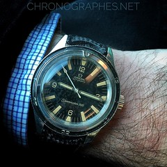 Omega Seamaster 300, réf. 165.014. Hommage to the hommage...