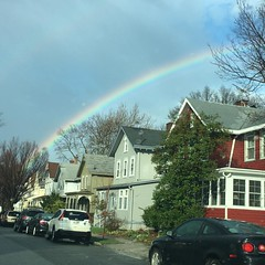 Rainbow over Cottage street