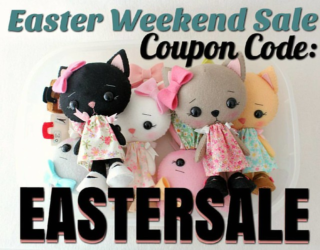 ⭐Don't forget to enter coupon code EASTERSALE for 20% off your entire order!!  Now through Monday! 🐇🌸🐇