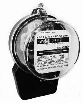 Điện năng tiêu thụ, công suất điện, định luật Jun-Lenxơ