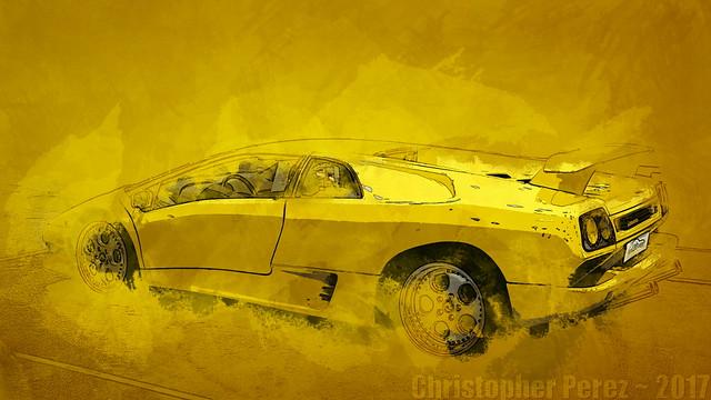 Lamborghini ~ l'art et la voiture