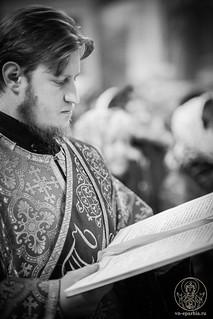 Литургия в Иверском монастыре 430