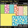 Tool Shed - Dandy Daisies Prints - Pack 3 Ad