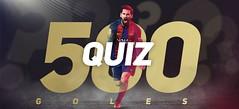 Llueven felicitaciones a Messi por su gol 500 con el Barcelona (Video)