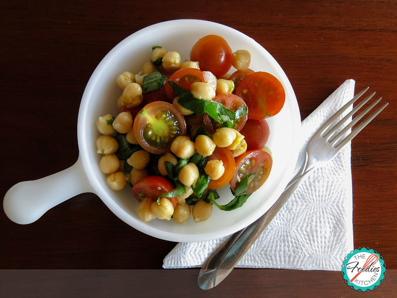 Chickpea & Fresh Basil Salad