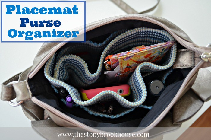 Placemat Purse Organizer700