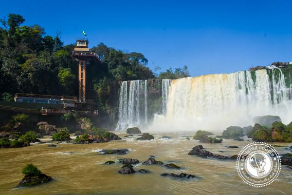 Elevator Iguazu Falls Brazil