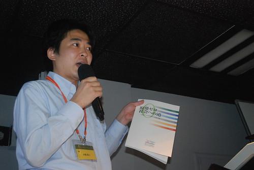 日本「原子力市民委員會」水藤周三Suito Syuzo;攝影:彭瑞祥