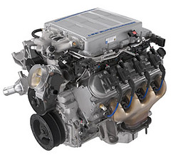 chevrolet performance ls9 638hp supercharged crate engine: