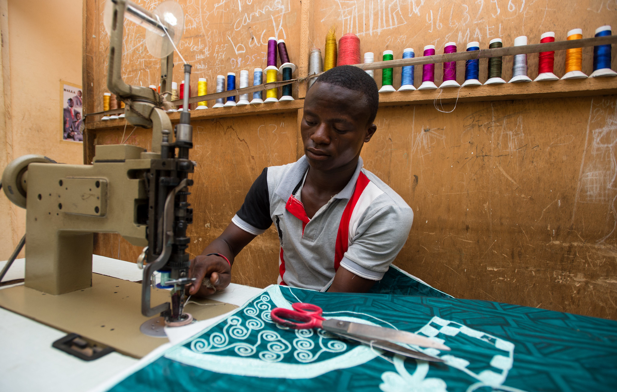 Tailor in Niamey