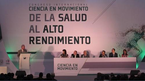 """""""Congreso Internacional Ciencia en Movimiento; De la Salud al Alto Rendimiento"""""""
