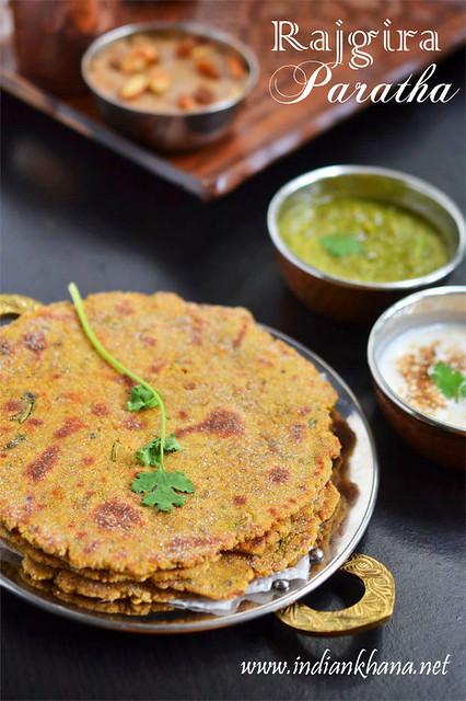 Falahari-Rajgira-Paratha