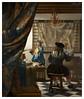 Johannes Vermeer. Alegoría de la Pintura. ca1666