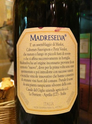 Madreselva Lazio Cul de Sac Rome Bar