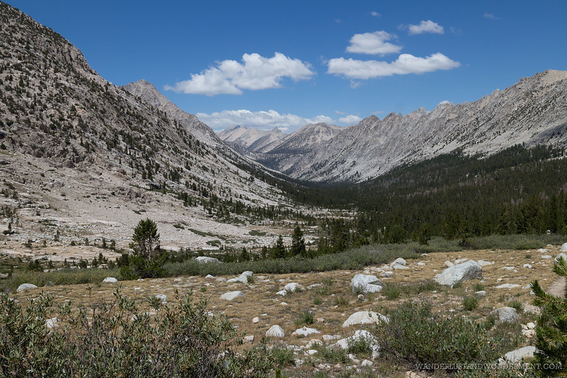 View of Forrester pass