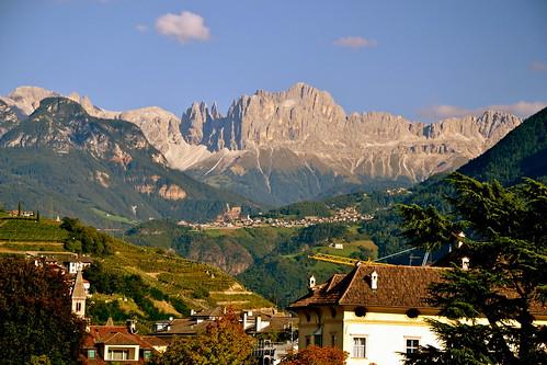 italien italy alps alpes italia september vineyards alpen alpi settembre dolomites dolomiti rosengarten südtirol bolzano bozen altoadige southtyrol dolomiten weinberge catinaccio nikond3100