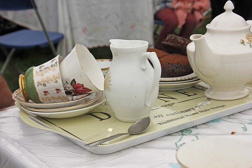 Vintage Tea at The Malvern Autumn Show